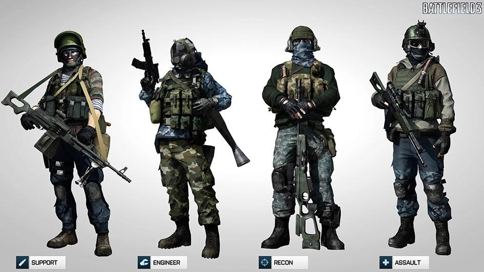 Battlefield 3 SPECACT Kit - Russia