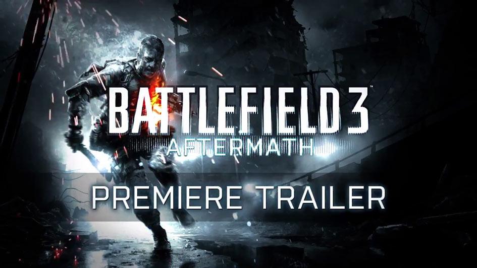 Battlefield 3 Aftermath Premiere Trailer - First Look
