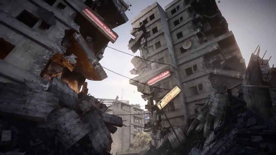 Battlefield 3 Epicenter - Aftermath Flythrough