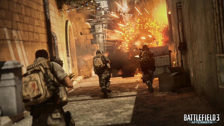 Battlefield 3 Aftermath Talah Market