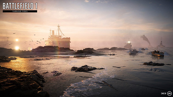 Battlefield 1 Turning Tides Now Free
