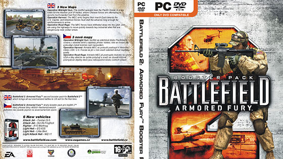 Battlefield 2 Armored Fury Expansion