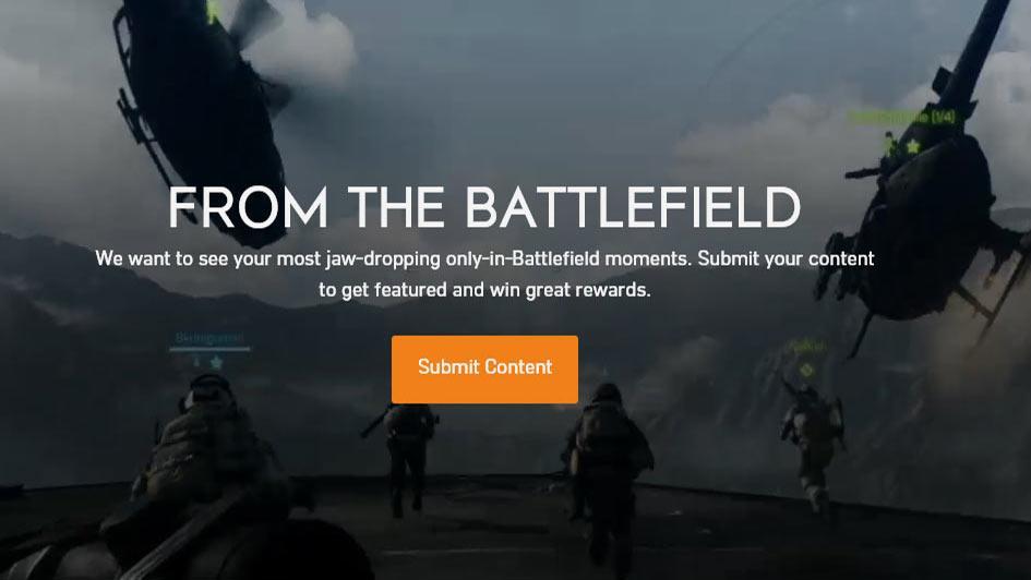 Battlefield Creator Contest - BF3 BF4 BF1 BFV