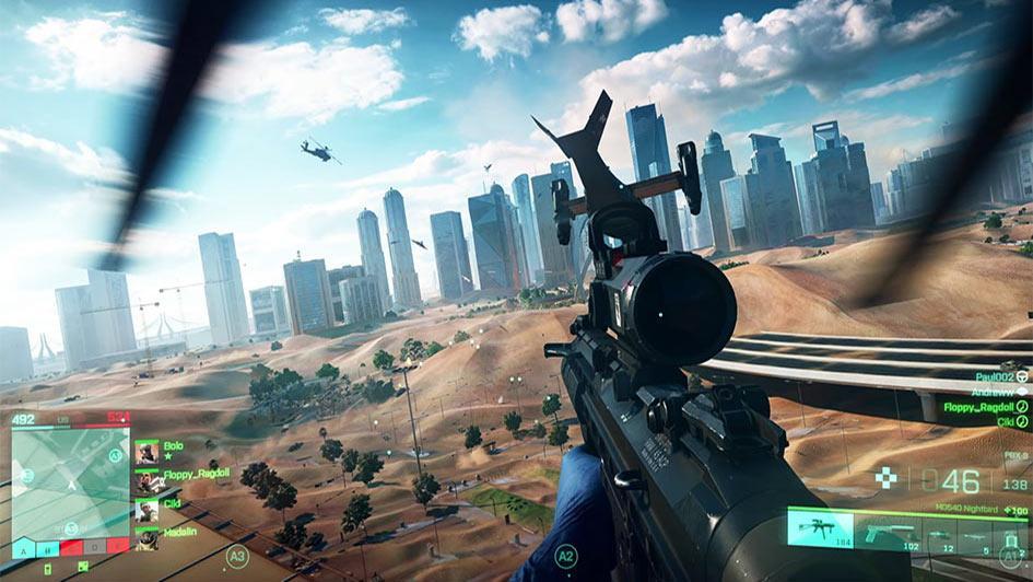 Battlefield 2042 Gameplay Footage - Pre-Alpha