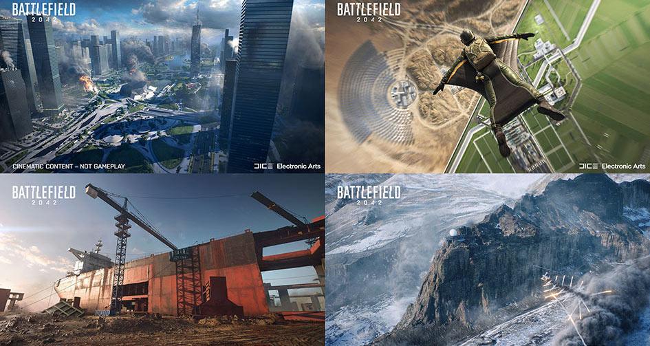 Battlefield 2042 Maps On Release