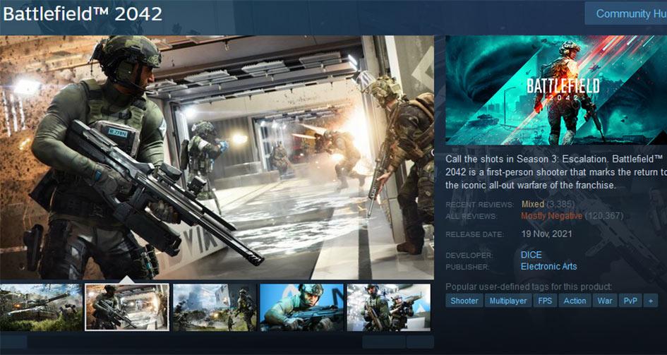 Battlefield 2042 On Steam