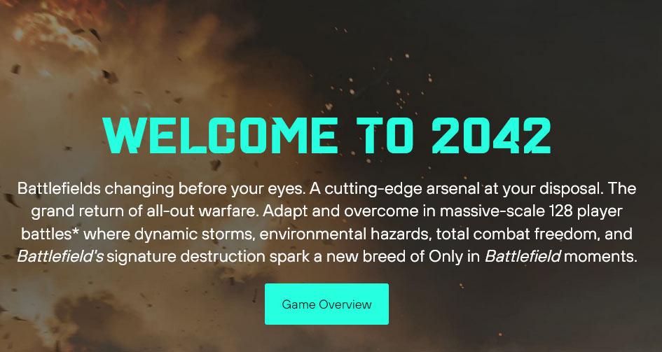 Battlefield 2042 Overview